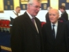 Paddy with Liam Cosgrave at same function